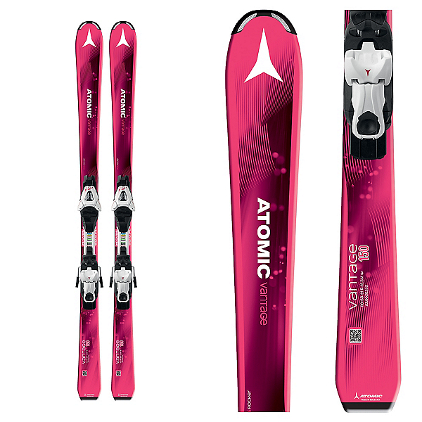 Atomic Vantage Girl III Kids Skis with XTE 7 Bindings 2018, , 600