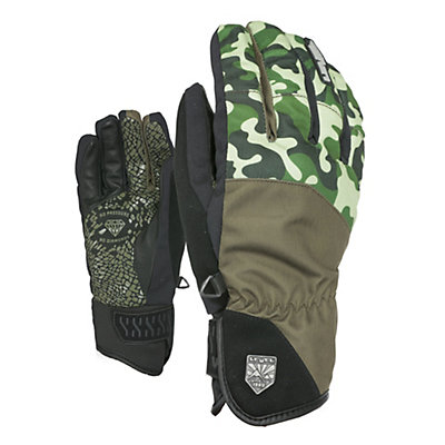 Level Suburban Gloves, Olive Green, viewer