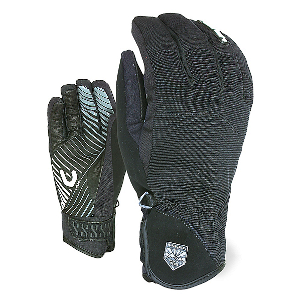 Level Suburban Gloves, Black, 600