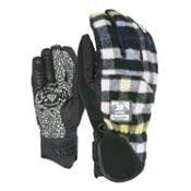 Level Suburban Gloves, Black-Grey, medium