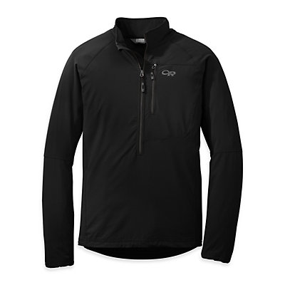 Outdoor Research Ferrosi Windshirt - Mens, Black, viewer