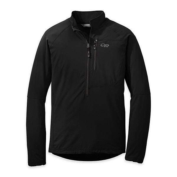 Outdoor Research Ferrosi Windshirt - Mens, Black, 600