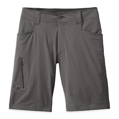 Outdoor Research Ferrosi 10in Mens Short, Pewter, viewer
