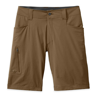 Outdoor Research Ferrosi 10in Mens Shorts, Pewter, viewer