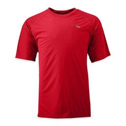 Outdoor Research Echo Mens T-Shirt, Hot Sauce-Redwood, 256
