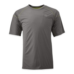 Outdoor Research Echo Mens T-Shirt, Pewter-Lemongrass, 256