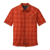 Outdoor Research Astroman Mens Shirt, Diablo-Hot Sauce, medium