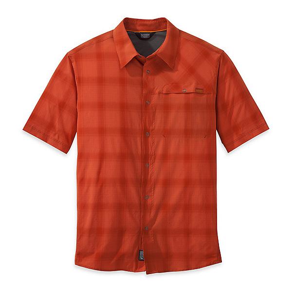 Outdoor Research Astroman Mens Shirt, Diablo-Hot Sauce, 600