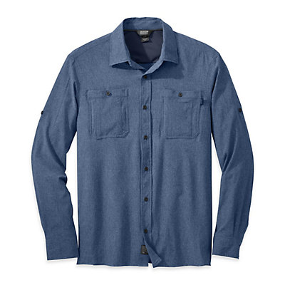 Outdoor Research Wayward Sentinel Mens Shirt, Dusk, viewer