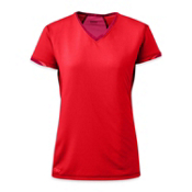 Outdoor Research Octane Womens T-Shirt, Flame-Scarlet, medium