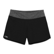 Outdoor Research Delirium Womens Shorts, Black-Pewter, medium
