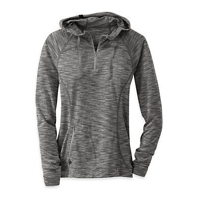 Outdoor Research Flyway Zip Womens Hoodie, , viewer