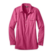 Outdoor Research Coralie Long Sleeve Womens Shirt, Sangria, medium