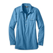 Outdoor Research Coralie Long Sleeve Womens Shirt, Cornflower, medium