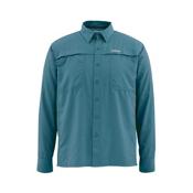 Simms Ebbtide LS Mens Shirt, Lake, medium