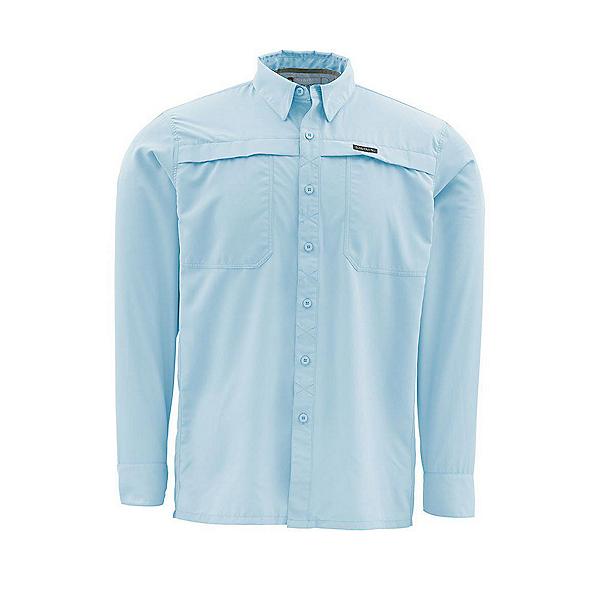 Simms Ebbtide LS Mens Shirt, Mist, 600