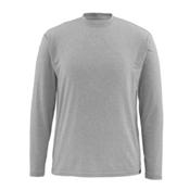 Simms Bugstopper Tech LS Mens Shirt, Smoke, medium