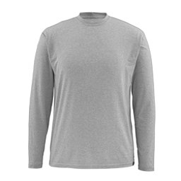 Simms Bugstopper Tech LS Mens Shirt, Smoke, 256