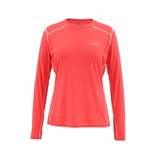 Simms Solarflex LS Crew Womens Shirt, Blossom, medium