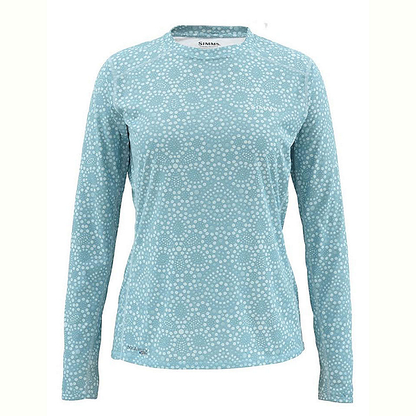 Simms Solarflex LS Crew Womens Shirt, , 600