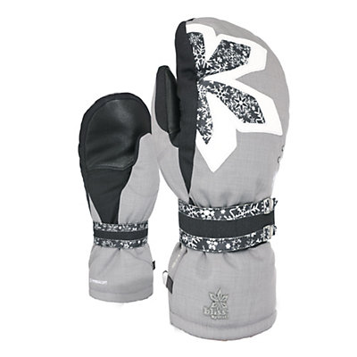 Level Bliss Oasis Womens Mittens, Logos, viewer