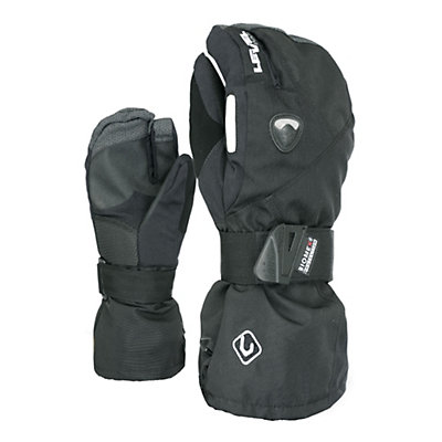 Level Fly Trigger Gloves, Black, viewer