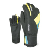Level Force Kids Gloves, Black-Yellow, medium
