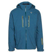 Descente Vertex Mens Insulated Ski Jacket, Morrocan Blue, medium