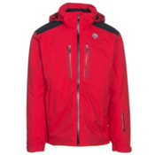 Descente Vertex Mens Insulated Ski Jacket, Electric Red, medium