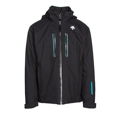 Descente Vertex Mens Insulated Ski Jacket, Morrocan Blue, viewer