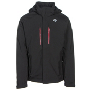 Descente Glade Mens Insulated Ski Jacket, Black, medium