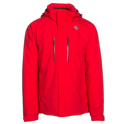 Descente Glade Mens Insulated Ski Jacket, Electric Red, medium