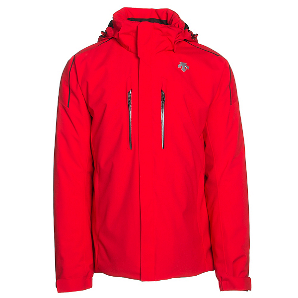 Descente Glade Mens Insulated Ski Jacket, Electric Red, 600
