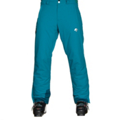 Descente Stock Mens Ski Pants, Teal Blue-Morrocan Blue, medium