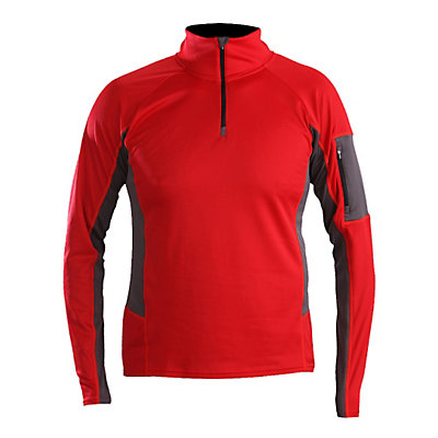 Descente Reif Mens Mid Layer, Electric Red, viewer