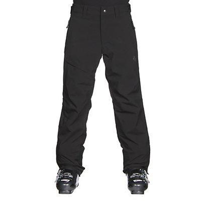 Descente Greyhawk Long Mens Ski Pants, Black, viewer