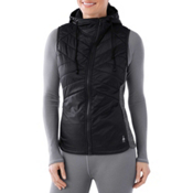 SmartWool Double Propulsion 60 Hooded Womens Vest, Black, medium