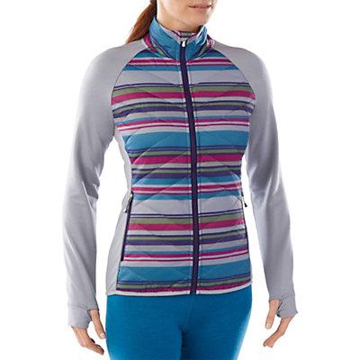 SmartWool Printed Corbet 120 Womens Jacket, Multi Stripe, viewer