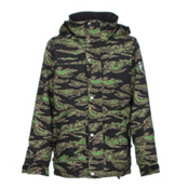 Burton Fray Boys Snowboard Jacket, Beast Camo, medium
