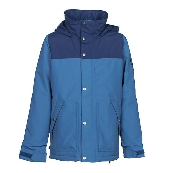 Burton Fray Boys Snowboard Jacket, Boro-Glacier Blue, 600