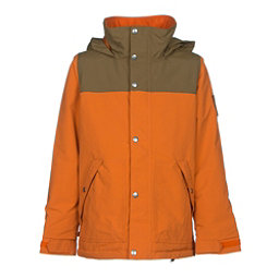 Burton Fray Boys Snowboard Jacket, Maui Sunset-Beaver Tail, 256
