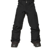 Burton Exile Cargo Kids Snowboard Pants, True Black, medium
