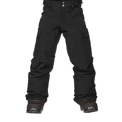 Burton Exile Cargo Kids Snowboard Pants, True Black, viewer