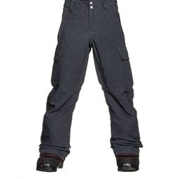 Burton Exile Cargo Kids Snowboard Pants, Heather Iron Grey, 256