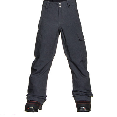 Burton Exile Cargo Kids Snowboard Pants, True Black, viewer