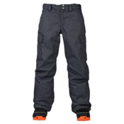Burton Exile Cargo Kids Snowboard Pants, Denim, medium