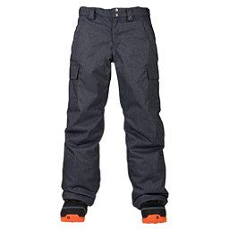 Burton Exile Cargo Kids Snowboard Pants, Denim, 256