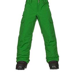 Burton Exile Cargo Kids Snowboard Pants, Slime, 256