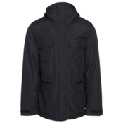 Burton Encore Mens Insulated Snowboard Jacket, True Black, medium
