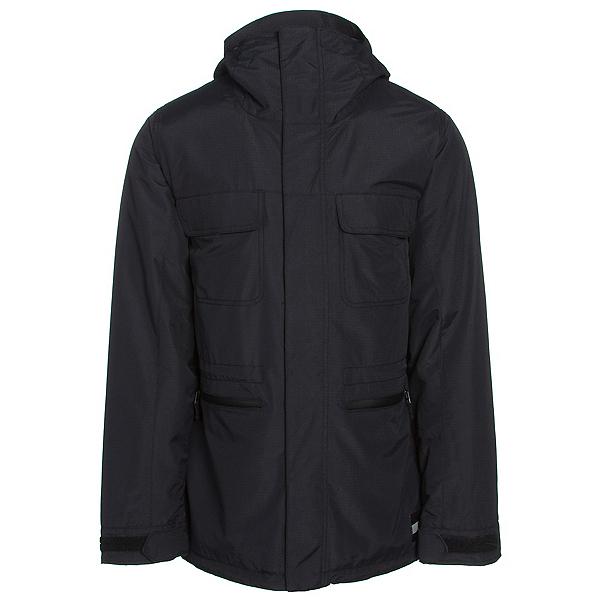 Burton Encore Mens Insulated Snowboard Jacket, True Black, 600